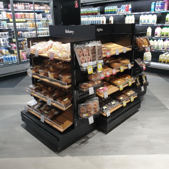 Bakery fixtures