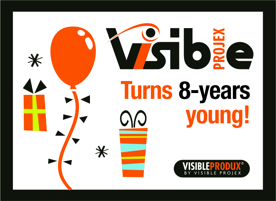 Visible Projex turns 8!